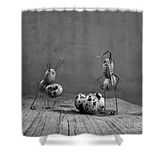 Simple Things Easter Shower Curtain
