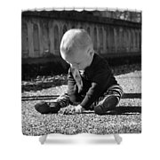 Simple Things Of Life Shower Curtain