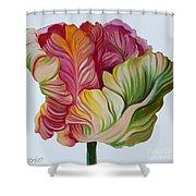 Simple Tulip Shower Curtain