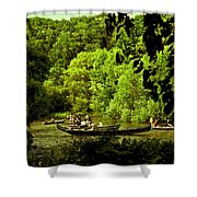 Simpler Times - Central Park - Nyc Shower Curtain