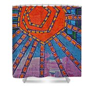 Simply A Sunset I've Never Seen Shower Curtain