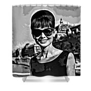 Simply Audrey Shower Curtain