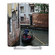 Simply Venice Shower Curtain