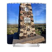 Simpson Springs Pony Express Station Monument - Utah Shower Curtain