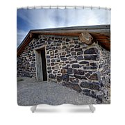 Simpson Springs Pony Express Station - Utah Shower Curtain