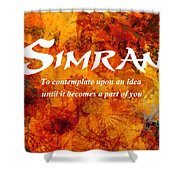Simran Shower Curtain