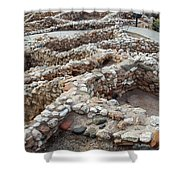 Sinagua Indian Ruins Shower Curtain