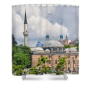 Sinan Pasha Mosque In Istanbul Shower Curtain