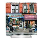 259 Bleecker Street  Shower Curtain