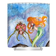 Sindaria Of The Seven Sorrows  Shower Curtain