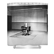 Sing Sing Electric Chair Shower Curtain