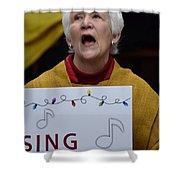 Sing Sing Shower Curtain