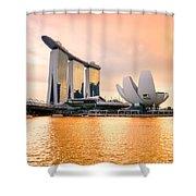 Singapore - Marina Bay Sand Shower Curtain