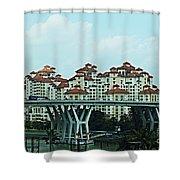 Singapore 11 Shower Curtain