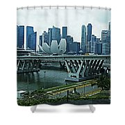 Singapore 14 Shower Curtain
