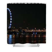 Singapore 2 Shower Curtain