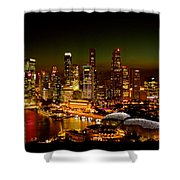 Singapore Shower Curtain