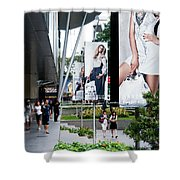 Singapore Orchard Road 02 Shower Curtain