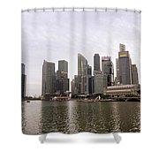 Singapore's Marina Bay Shower Curtain
