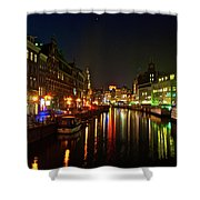 Singel Subdued Shower Curtain