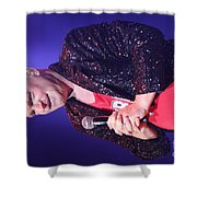Singer Andy  Bell Shower Curtain