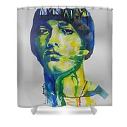 Rapper  Eminem Shower Curtain