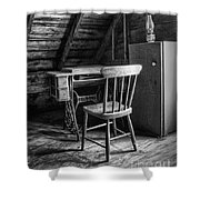 Singer In The Attic Shower Curtain