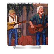 Singing For The Angels Shower Curtain