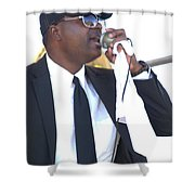 Singing A Jazz Song Shower Curtain