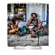 Singing For Supper Shower Curtain