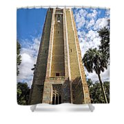 Singing Tower House Side View Shower Curtain