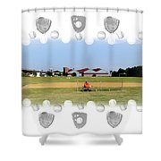 Single Shower Curtain by Brian Wallace