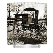 Single Seater Shower Curtain