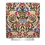 Single Stem Wallpaper Design, 1905 Shower Curtain
