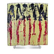 Singled Out Shower Curtain