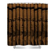 Singles In Copper Shower Curtain
