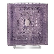 Singularity Original Painting Shower Curtain