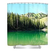 Sink On In Shower Curtain