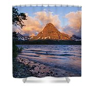 Sinopah Rising Shower Curtain