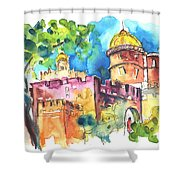 Sintra Castle 02 Shower Curtain