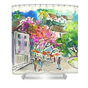 Sintra Square 02 Shower Curtain