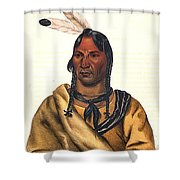 Sioux Chief 1883 Shower Curtain