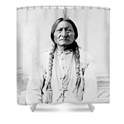 Sioux Chief Sitting Bull Shower Curtain