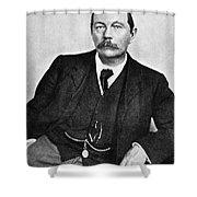 Sir Arthur Conan Doyle (1859-1930) Shower Curtain