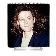 Sir Bob Geldorf 1989 Shower Curtain