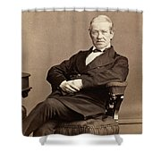 Sir Charles Wheatstone (1802-1875) Shower Curtain