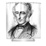 Sir Charles Wood (1800-1885) Shower Curtain