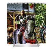 Sir Lancelot Du Lac Shower Curtain