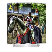 Sir Lancelot Du Lac - V2 Shower Curtain