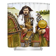 Sir Marhaus Shower Curtain